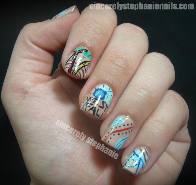 map-nail-art