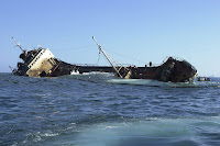 Jessica wrecked in San Cristobal Harbor resulting in diesel spill