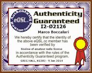 eQSL certification