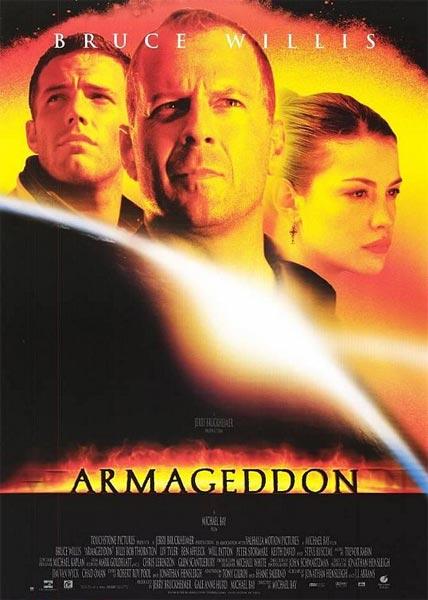 Armageddon ( HD 720P y español Latino 1998) poster box cover