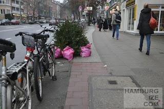 Osterstraße - Winterradwegdeko