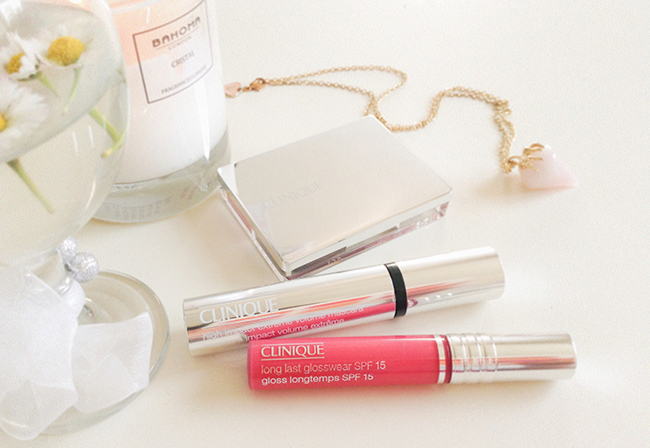 Aimerose Clinique extreme volume mascara, long last glosswear cabana crush blog review