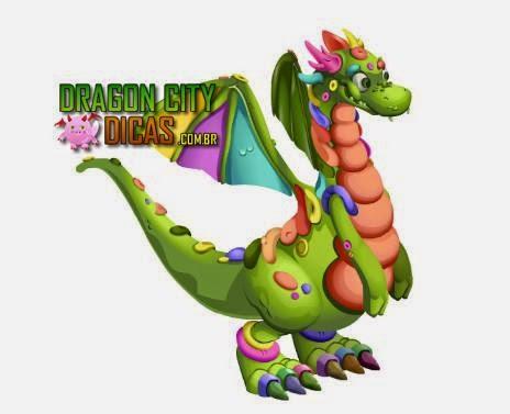 Dragão Massa de Modelar