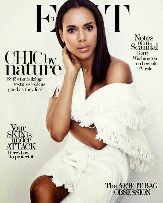 Actress @ Kerry Washington by Bjorn Iooss for The Edit Magazine
