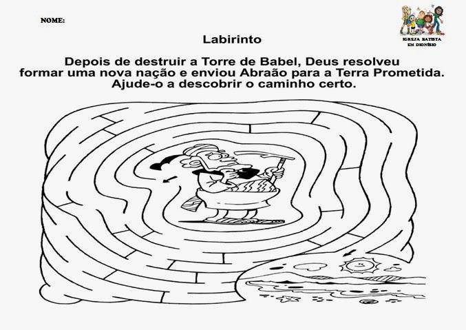 Well-known MINISTÉRIO INFANTIL SEMEANDO A SALVAÇÃO: Mini apostila de  XL41