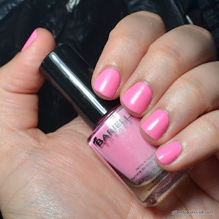 barielle smarty pants pink, barielle smarty pants pink swatch, barielle smarty pants pink nail swatch