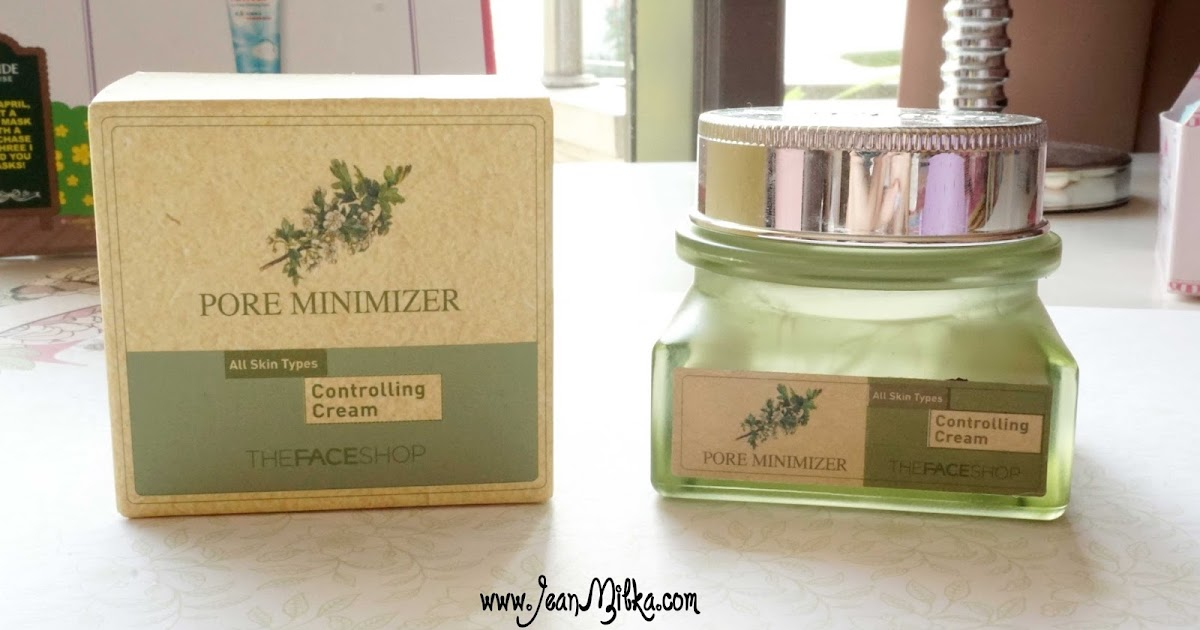 The Face Shop Pore Minimizer Controlling Cream Review U0026 Tips For Oily Skin   Jean Milka
