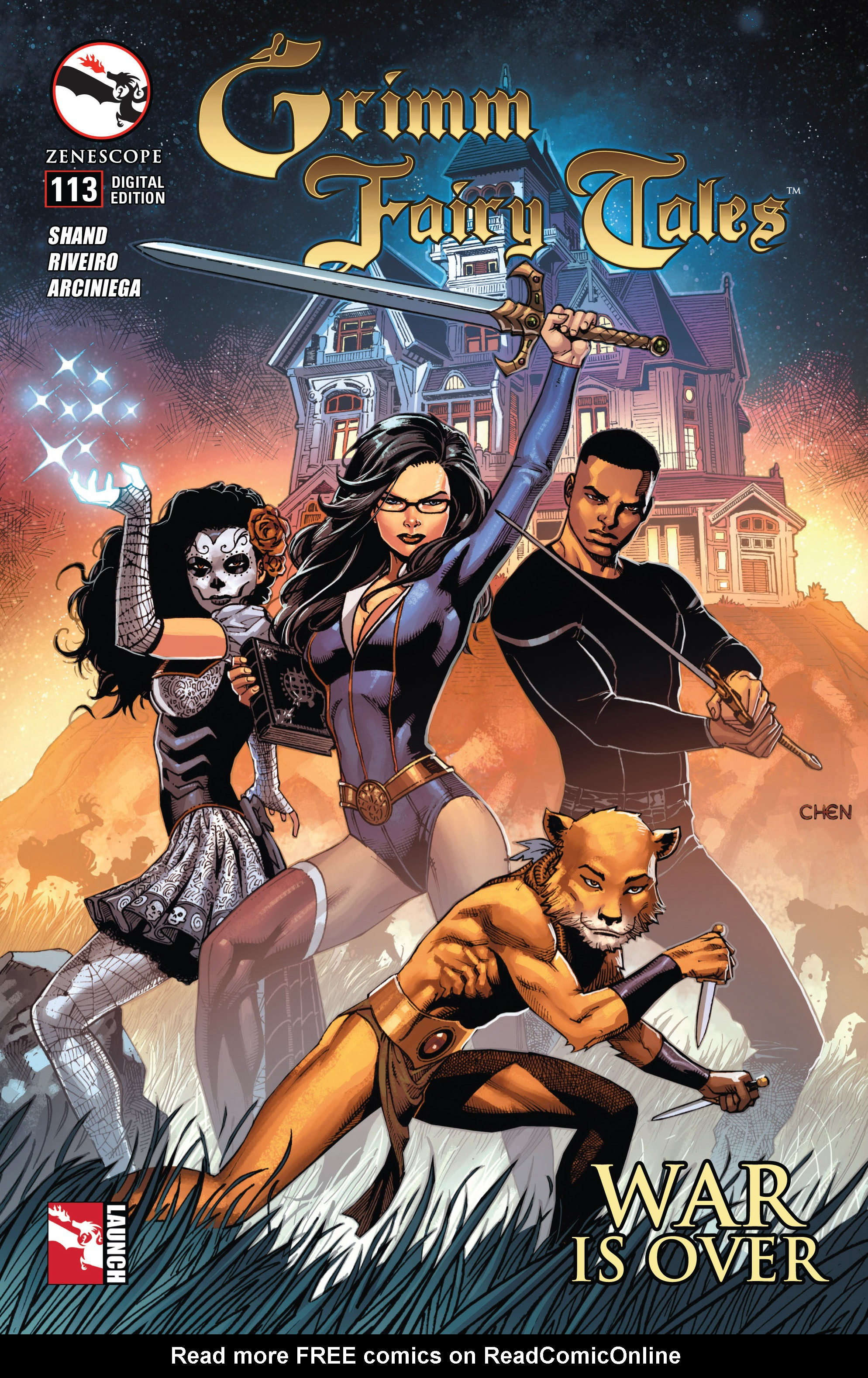 Grimm Fairy Tales (2005) Issue #113 #116 - English 1