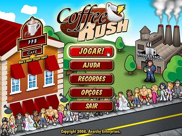 Coffee Rush PT-BR Portable