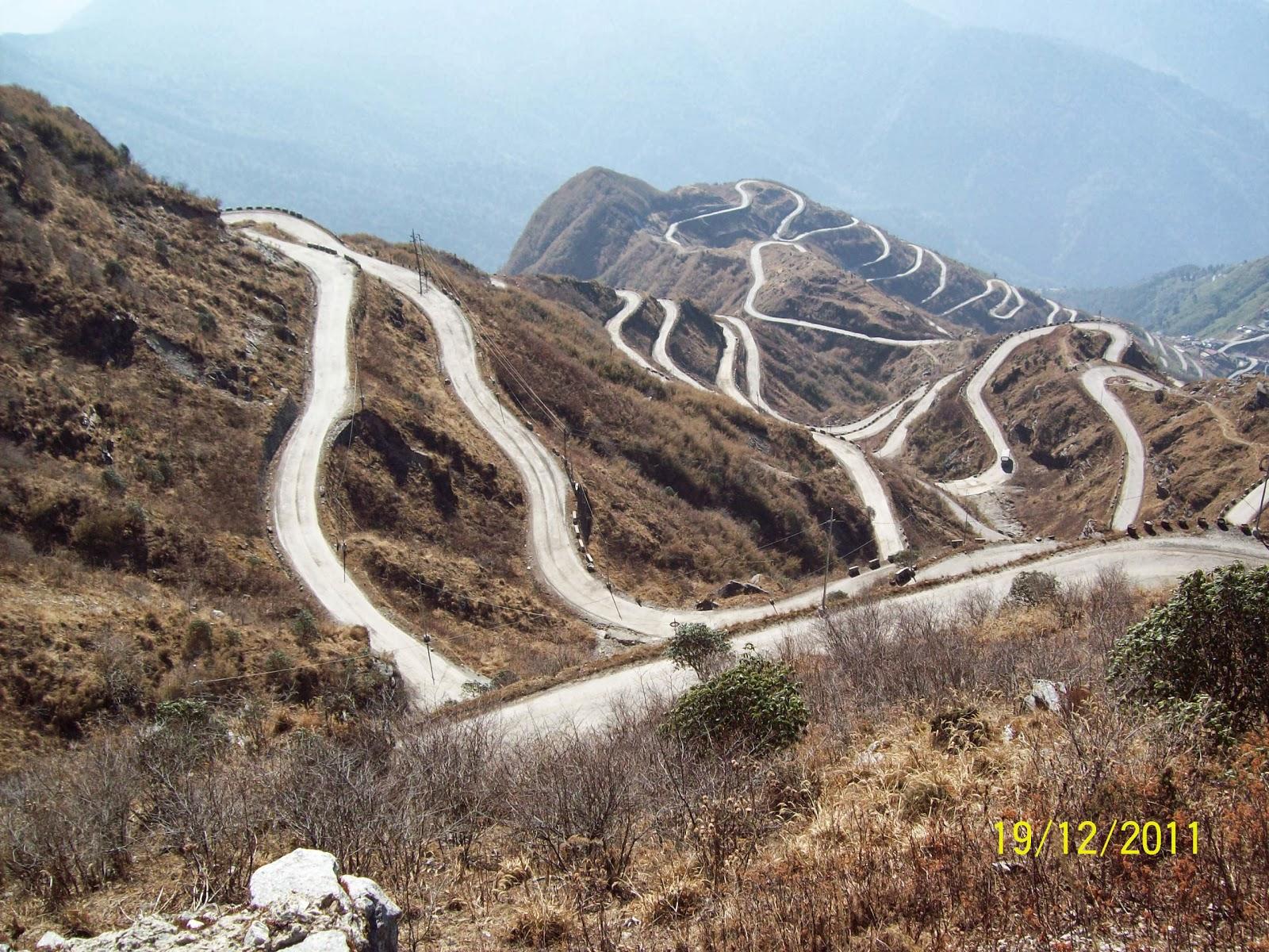 Sikkim ,Zuluk, nathula Pass: Sikkim , Zuluk , Nathula pass
