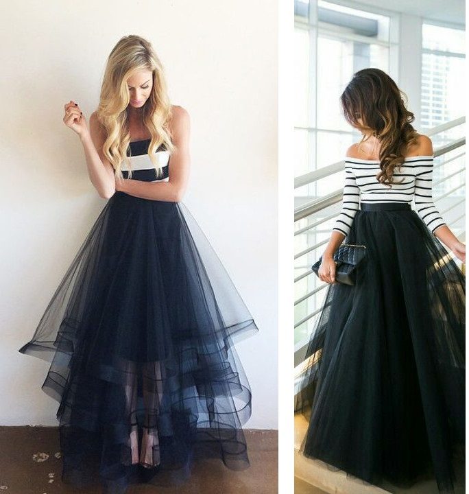 tenue de f te couture facile plusieurs mod les de jupe tulle bettinael passion couture made in. Black Bedroom Furniture Sets. Home Design Ideas