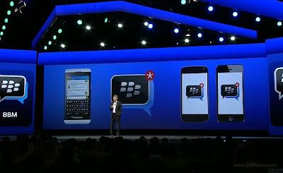 BlackBerry Messenger akan Hadir untuk Android & iOS