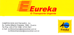 Transporte de rea: RJ/Campos, SP/Campos, Campinas/Campos e BH/Campos