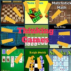 Online Thinking Games