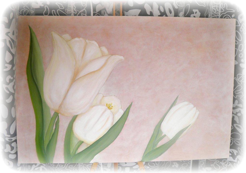 La Bohemien: Tulipani bianchi