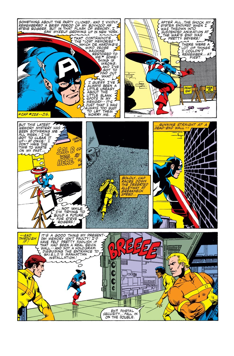 Captain America (1968) Issue #247 #162 - English 5