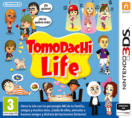 Tomodachi Life Decrypted 3DS EUR