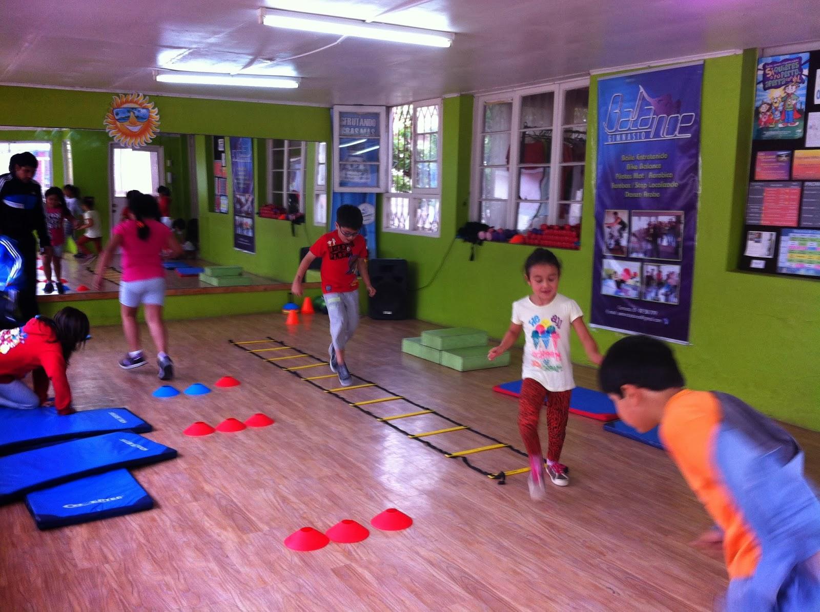 Circuito Juegos Para Niños : Gimnasio balance la serena gimnasia entretenida para niños y