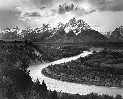 Natural landscape photography of ansel adams