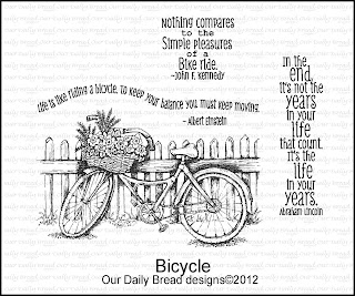 Our Daily Bread Designs, Bicycle