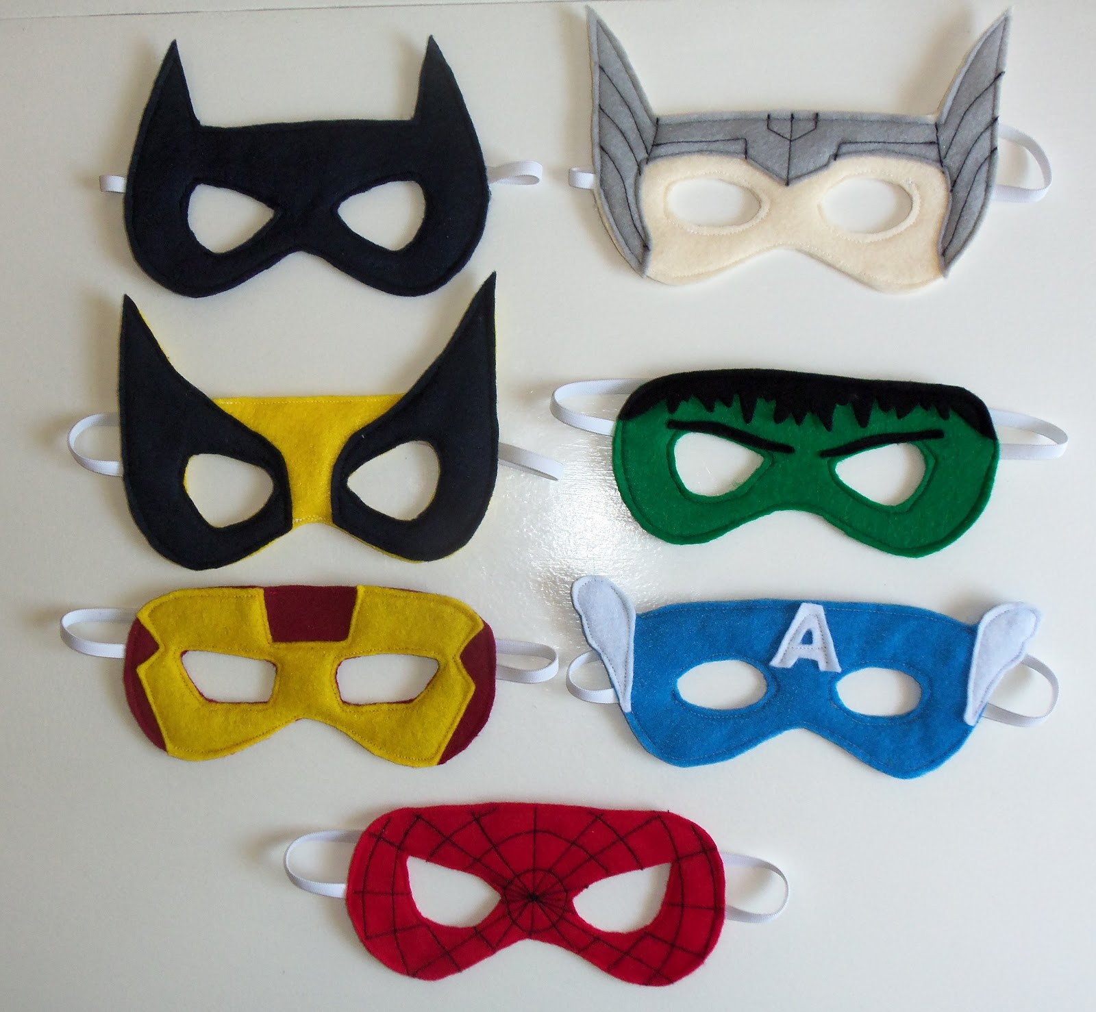 Edit: I'm so glad everyone likes my superhero masks! I hope you will