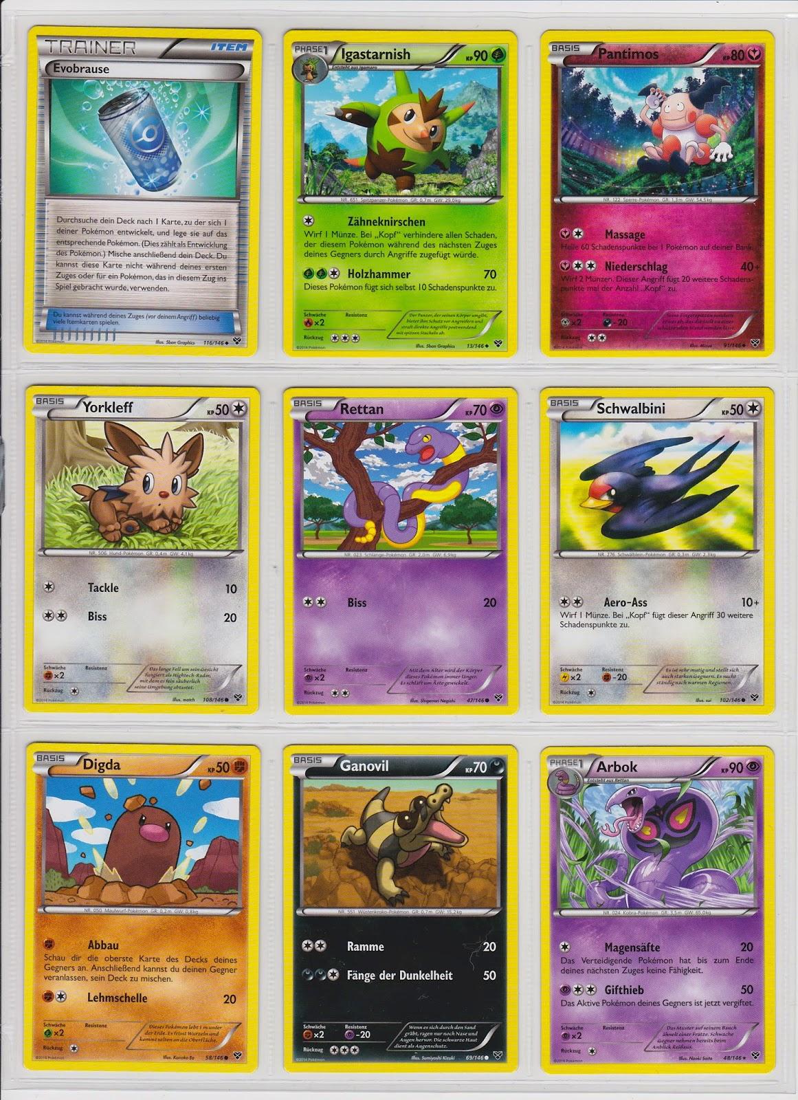 pokemon karten deutsch