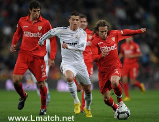 Real madrid vs Sevilla en direct live