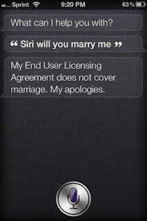 Marry me SIRI