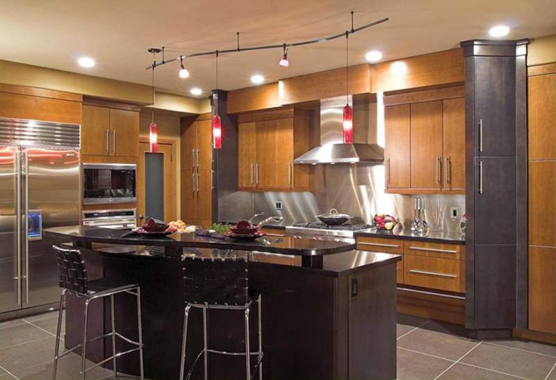 maple kitchen cabinets colors