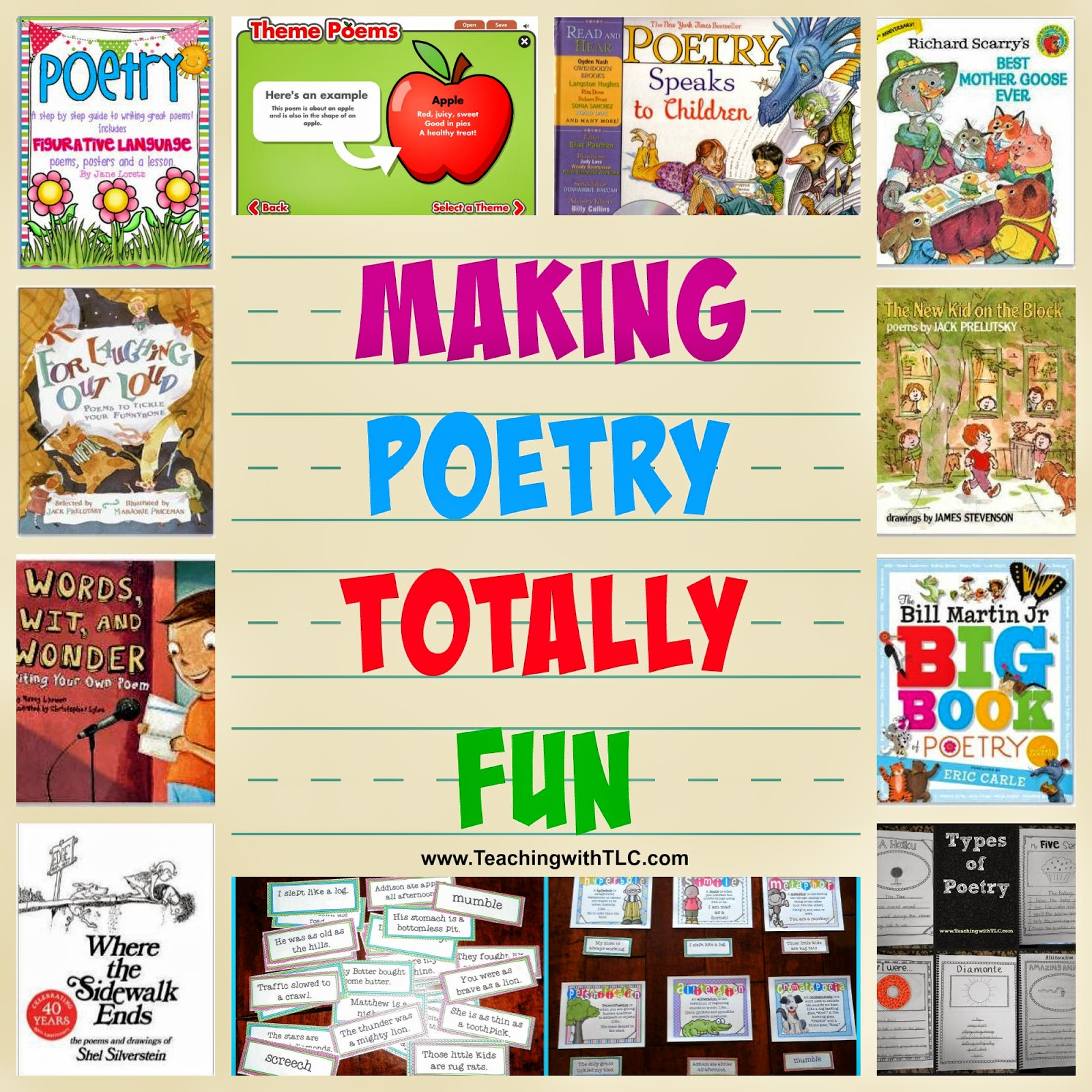 Poetry can be so much fun my kids and i enjoy reading poetry and we