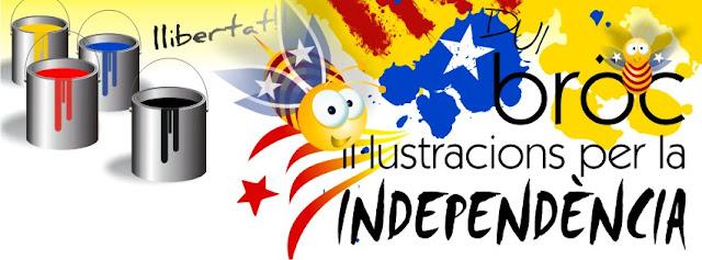 Bröc, Il·lustracions per la independència