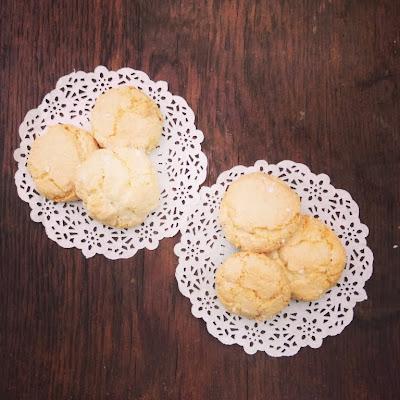 macarons italiens amaretti