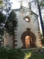 Façana de ponent de l'església de Sant Sadurní