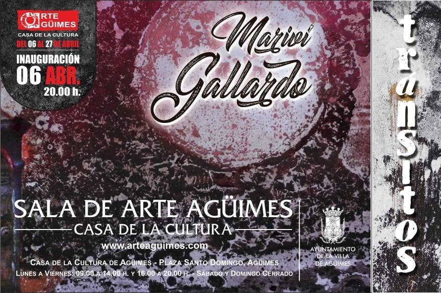 """Mariví Gallardo: """"Tránsitos"""" en la Sala de Arte Agüimes"""