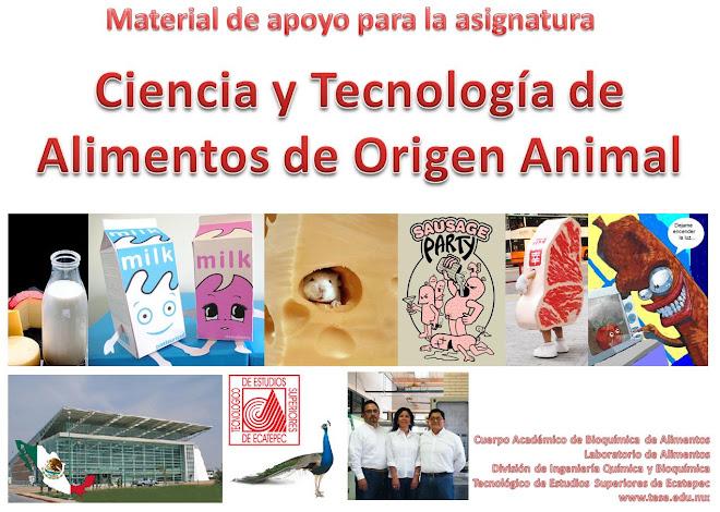 Ciencia y Tecnologia de Alimentos de Origen Animal