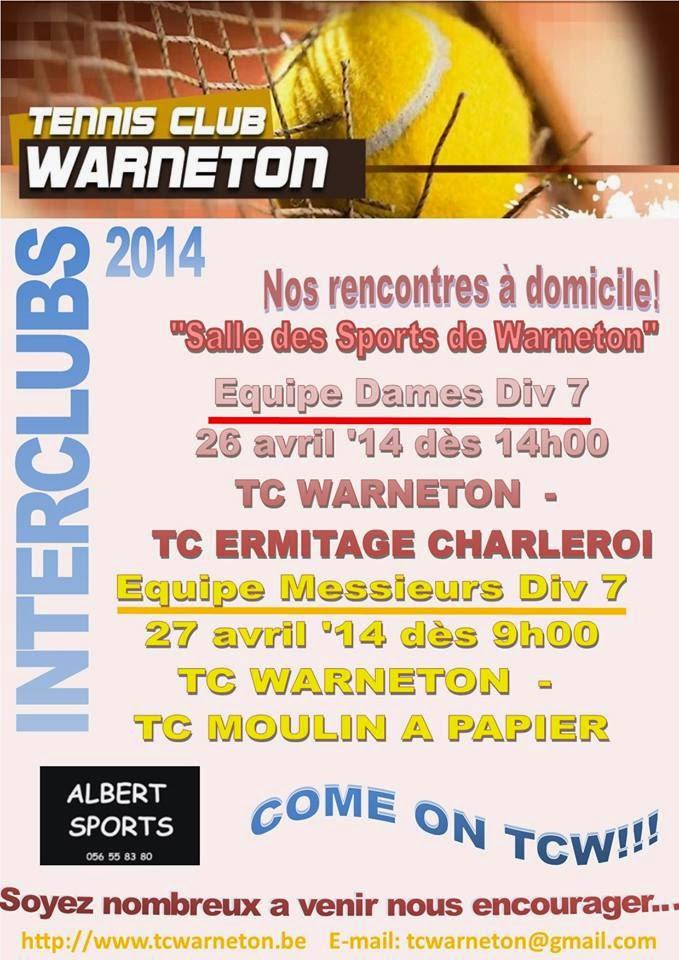 26 AVRIL WARNETON TENNIS.