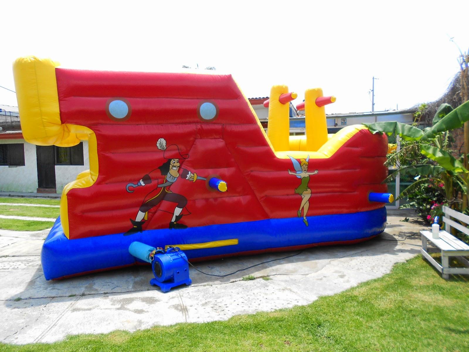 Renta de inflables infantiles en puebla juegos inflables en puebla for Juegos de jardin para nios en puebla