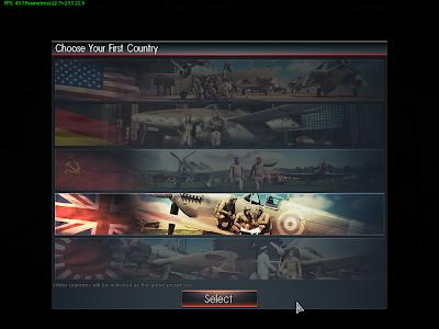War Thunder - Choosing Country