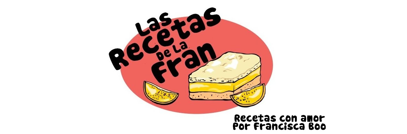 LAS RECETAS DE LA FRAN