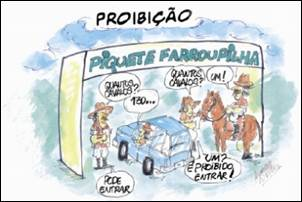 Polêmica no RS. Cavalos são proibidos de circular.