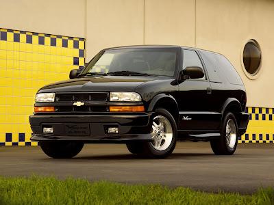Chevrolet   Populaire fran  ais dautomobiles  2002 Chevrolet Blazer