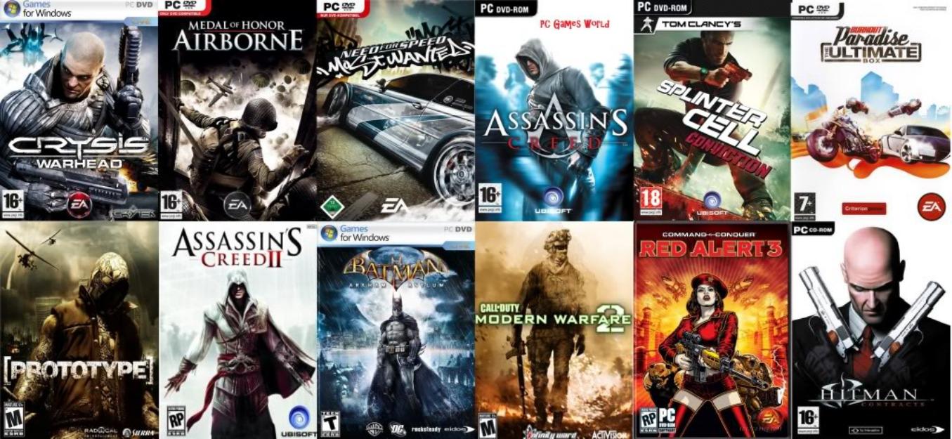 download popular games for windows 7
