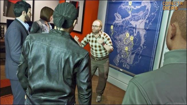 GTA V Assaltos - Planejamento de assaltos