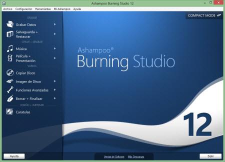 Graba discos y crea presentaciones con Burning Studio 12