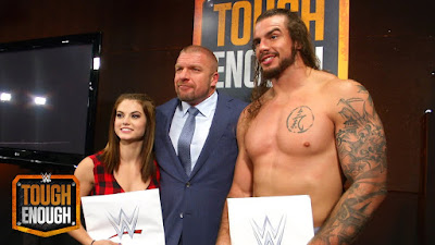 Sara Lee Josh WWE NXT wrestling Triple H Tough Enough