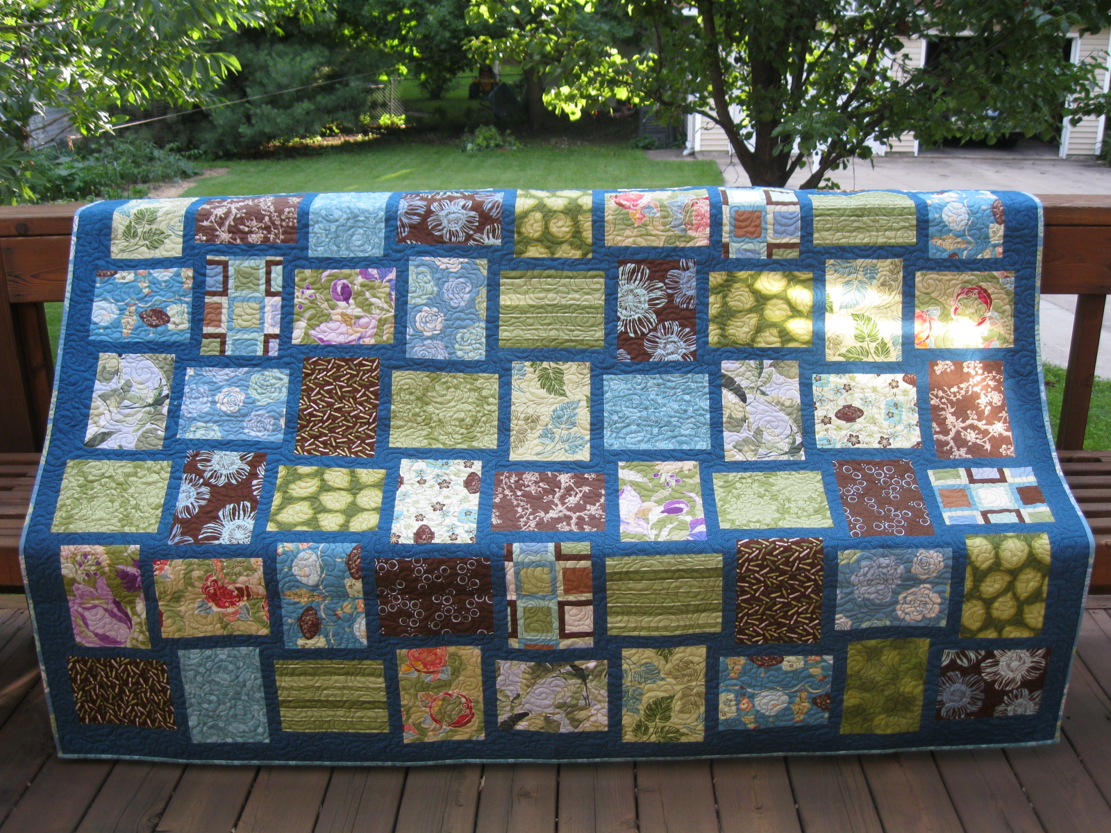 Quilt Patterns Using Large Scale Prints : Studio Notes: Working with large-scale prints