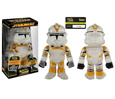 Gemini Collectibles Exclusive Star Wars Clear Clone Trooper Utapau Hikari Sofubi Vinyl Figure by Funko