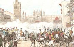 Entra en Sevilla, José Napoleón Bonaparte.