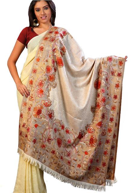 Pure Cashmere Pashmina Shawl