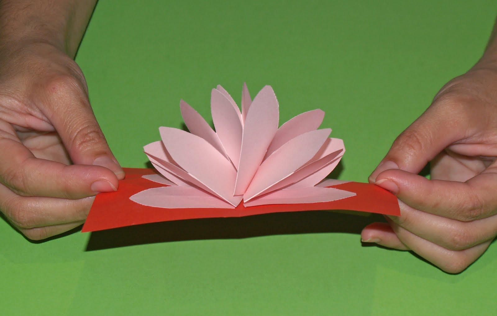 tarjeta flor de loto